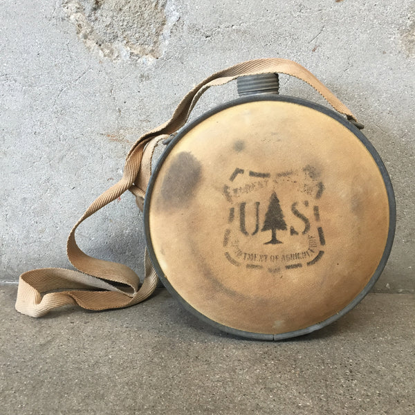Vintage Forest Service Canteen