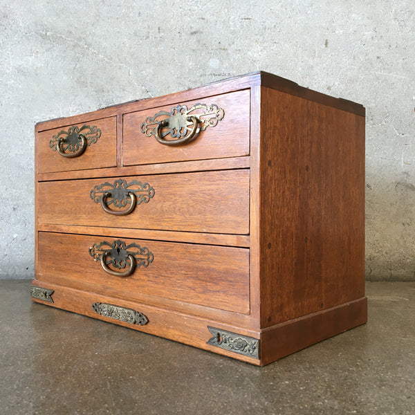 Vintage Japanese Jewel Chest