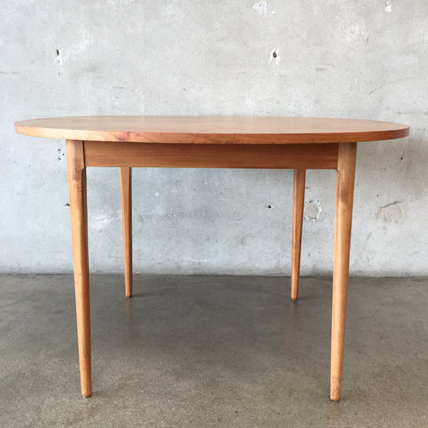 Mid Century Kipp Stewart Round Dining Table
