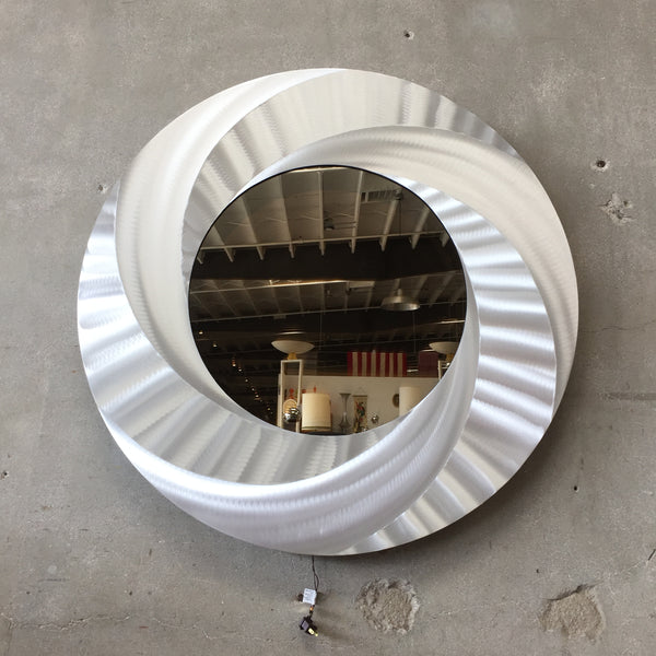 Large Round Infinity Mirror Light