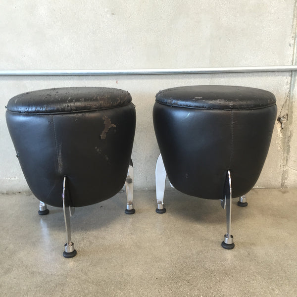 Pair of Mid Century / Atomic Age Stools