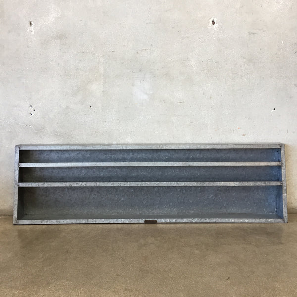 Galvanized Wall Shelves