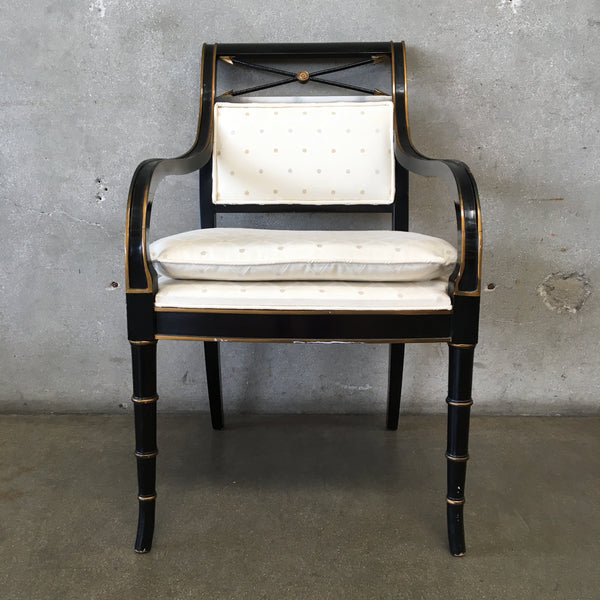Black Modern Plantation Chair
