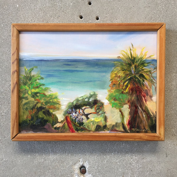 Small Hawaii Oil Painting