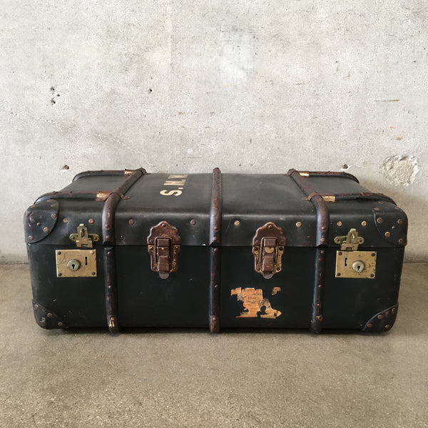 Antique English Trunk