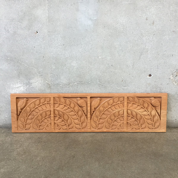 Mid Century Modern Evelyn Ackerman Style Carved Panel