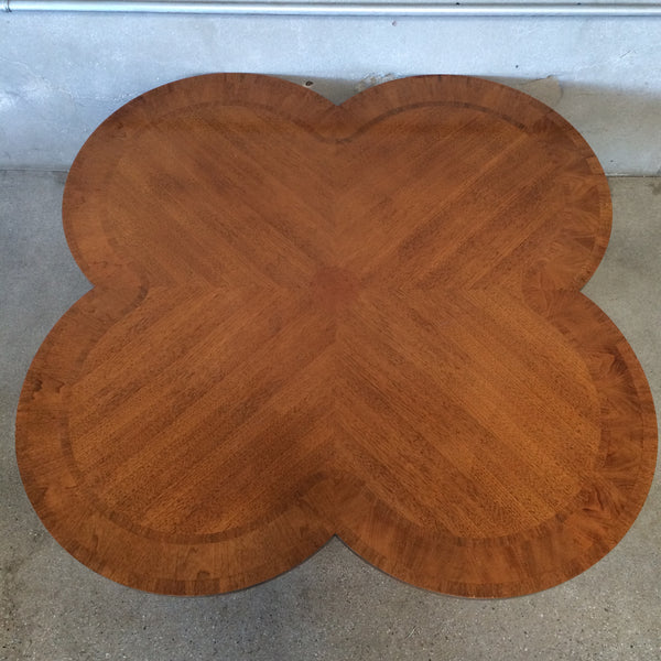 Large Scale Lane Cloverleaf Cocktail Table