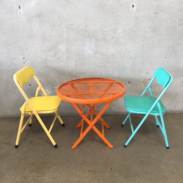 Vintage Child's Table & Chairs