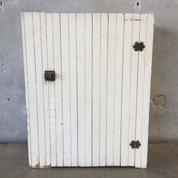 White Vintage Cupboard