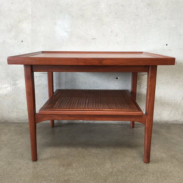 Mid Century Drexel Declaration Walnut End Table