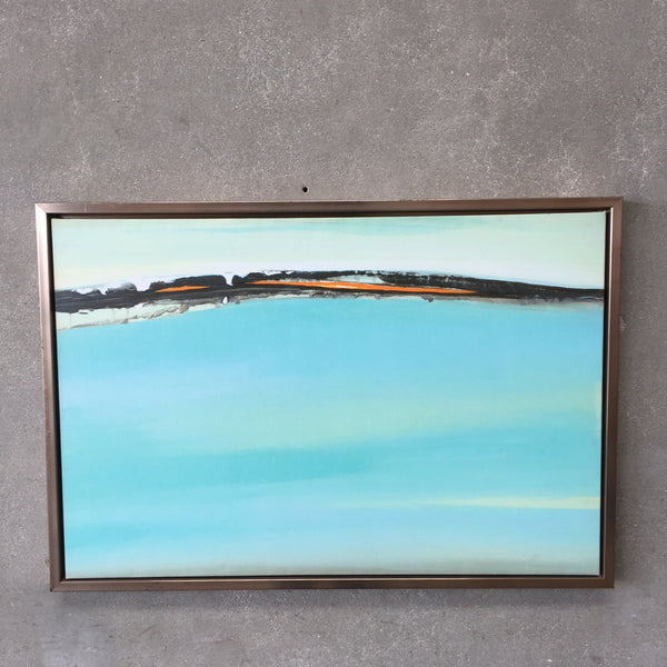 Abstract Turquoise Art
