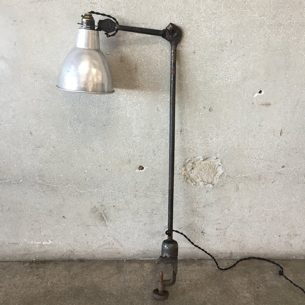 French Industrial Lamp by Gras