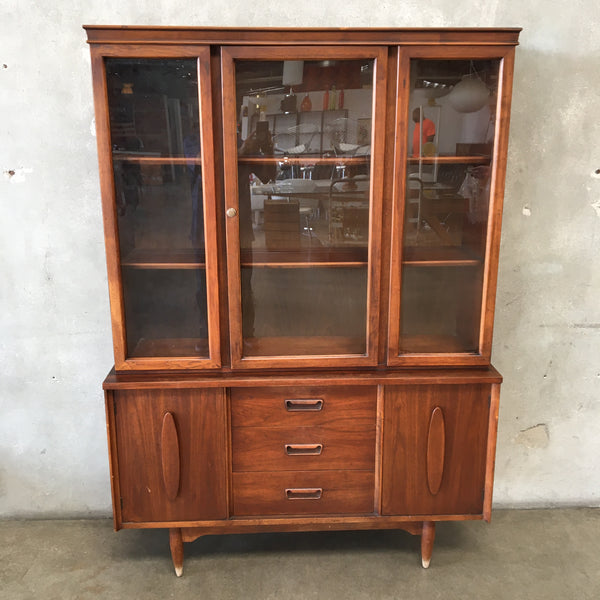 Mid Century Walnut Hutch by Garrison