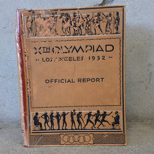 1932 Official Olympic Report Book