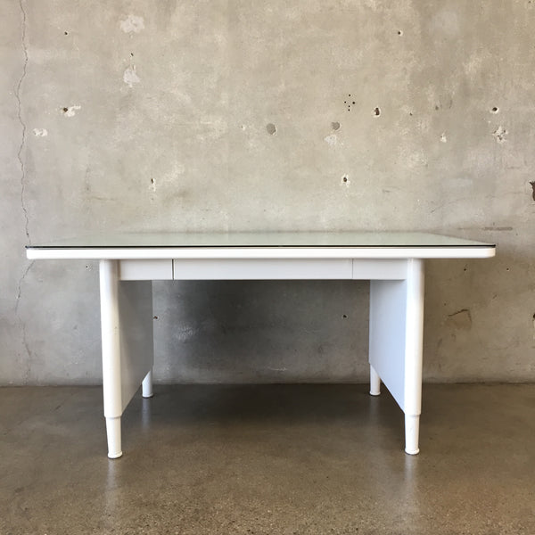 White Industrial Tanker Desk