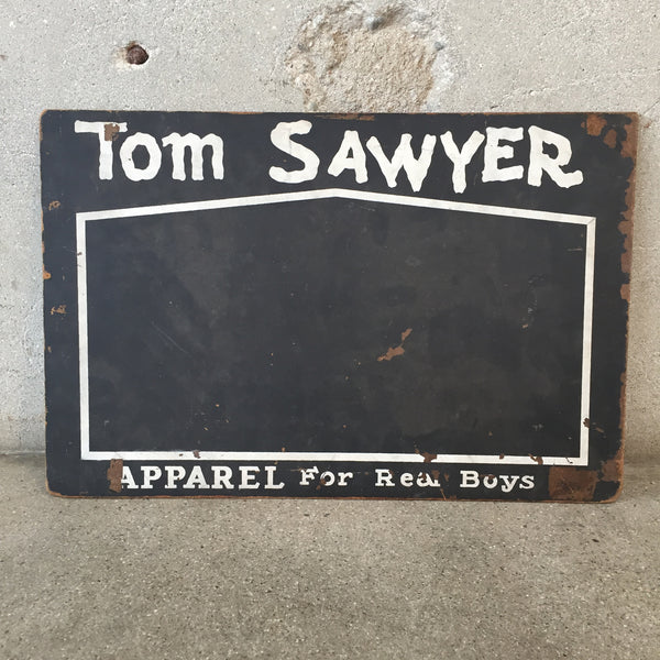 Tom Sawyer Apparel for Boys 2-Sided Chalkboard