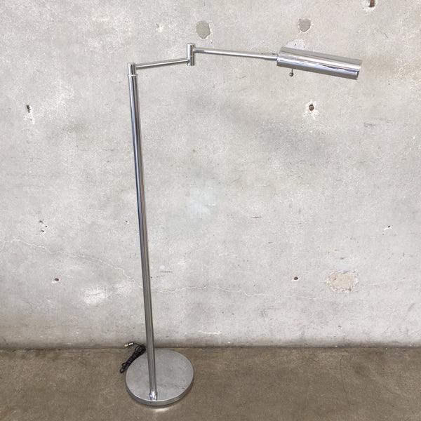 Mid Century Koch & Lowy Chrome Floor Lamp