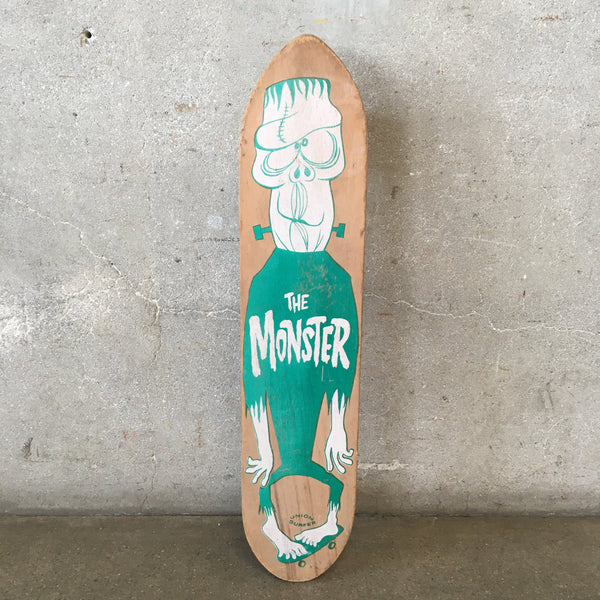 Vintage 1960's Skateboard Rare Monster by Union Surfer