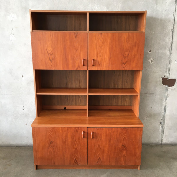 Danish Teak Wall Unit