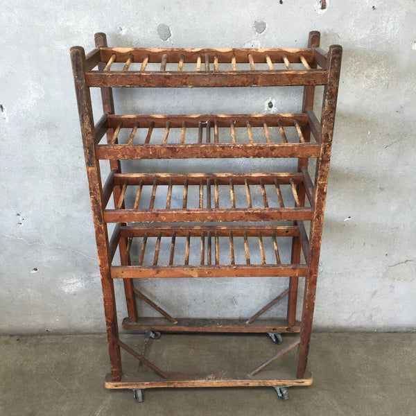 Vintage Small Shoe Rack Shelf