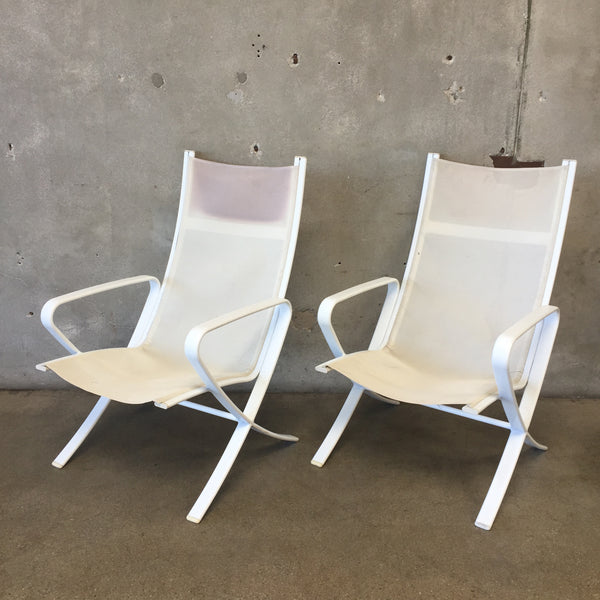 Pair of Brown Jordan Lounge Chairs