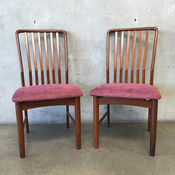 Pair of Danish Teak Chairs by Svend A. Madsen