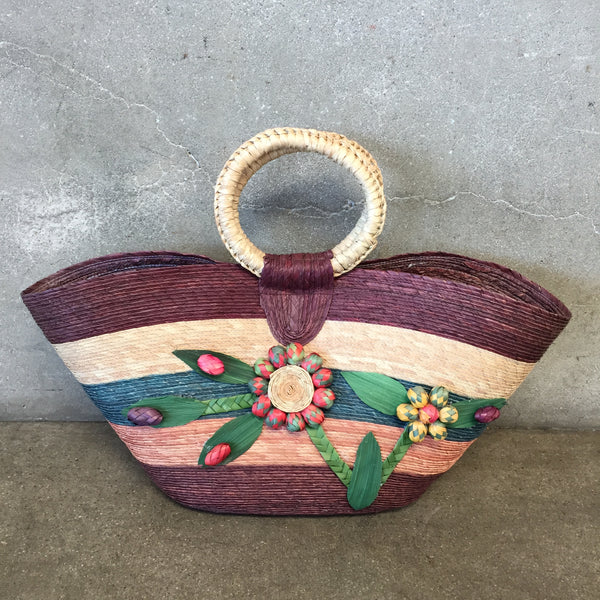 Mexican Straw Purse