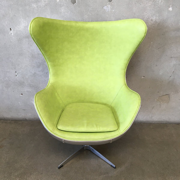 Arne Jacobsen Style Industrial Chair