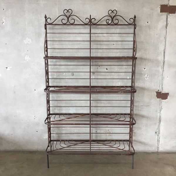 Heavy Iron French Bakers Rack / Plant Stand