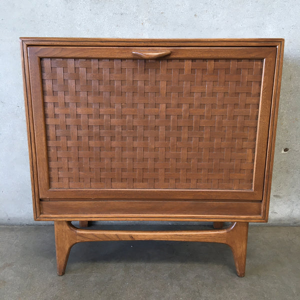 Mid Century Walnut Record Cabinet Lane