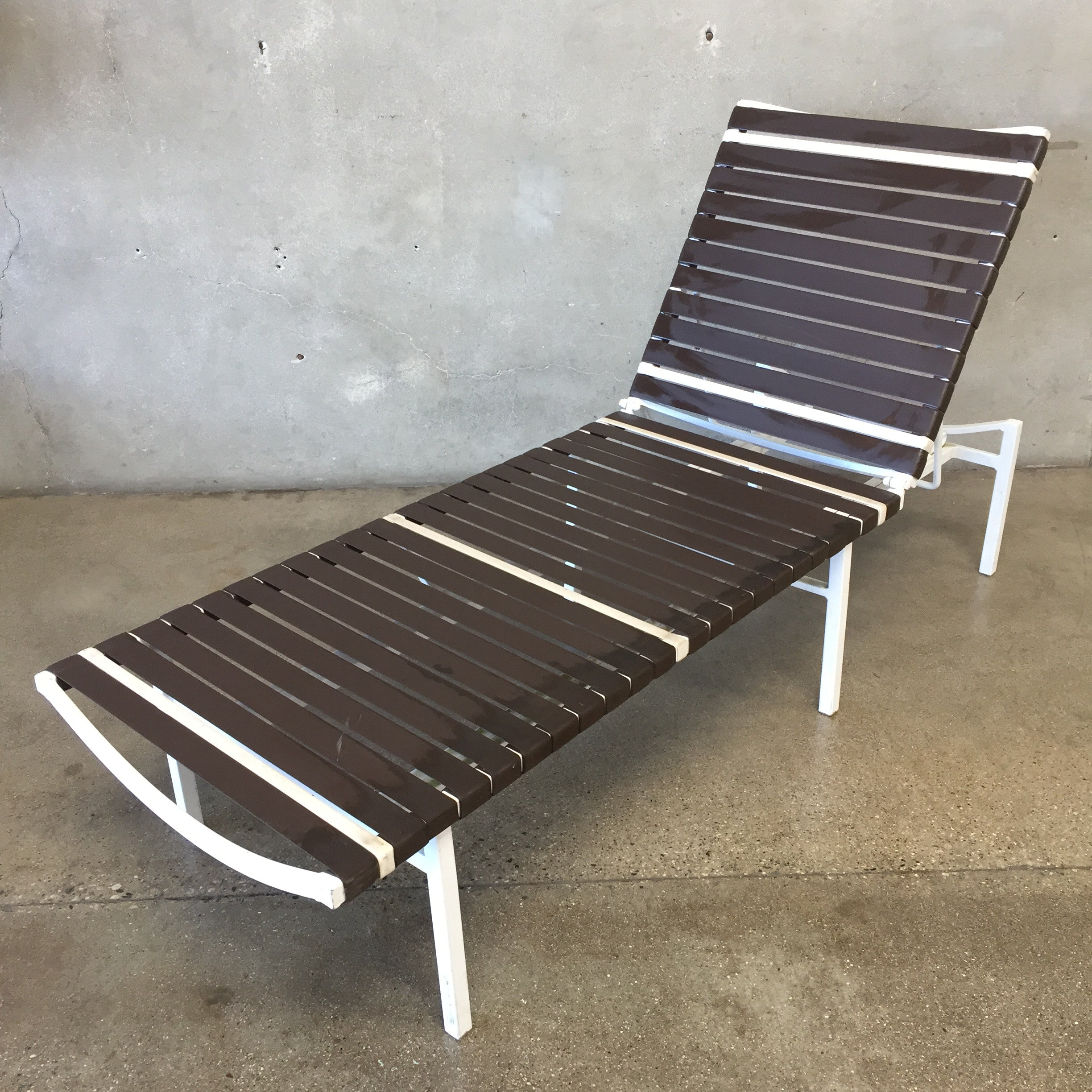 ... Pair of Vintage Mid Brown Jordan Style Century Chaise Lounge Chairs ... : mid century chaise lounge - Sectionals, Sofas & Couches