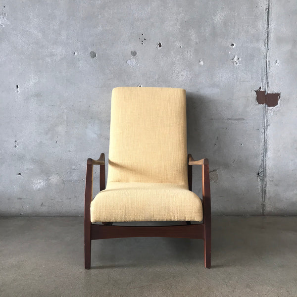 Mid Century Stationary Rocker / Chair Fully Restored