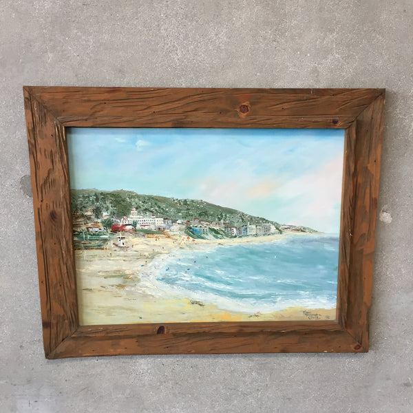 Laguna Beach California Painting by Diane Lewis