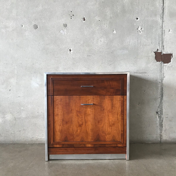 Mid Century Modern Record Storage Cabinet by Lane