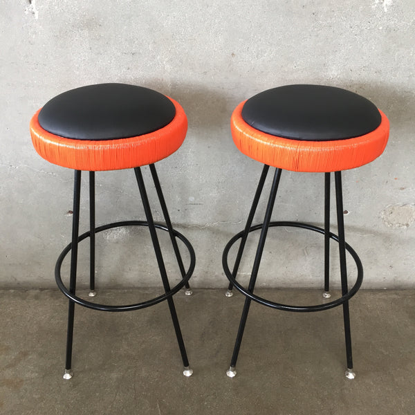 Pair of Mid Century Barstools