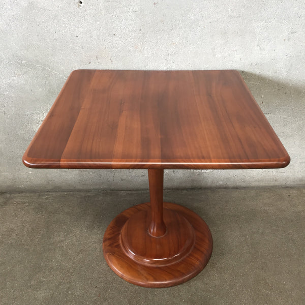 Mid Century Solid Cherry Table
