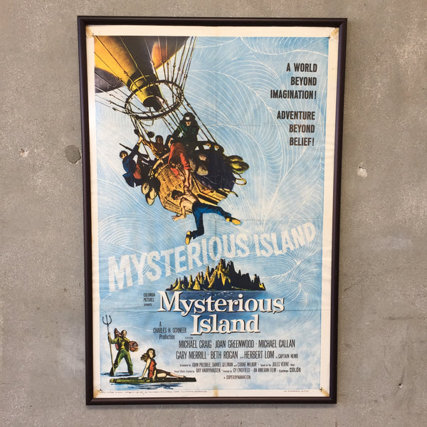 1961 Mysterious Island Original Poster