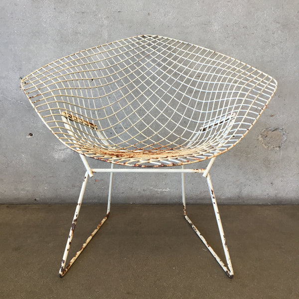 Vintage Bertoia Diamond Chair