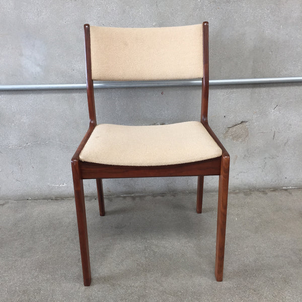 Mid Century Walnut Chair