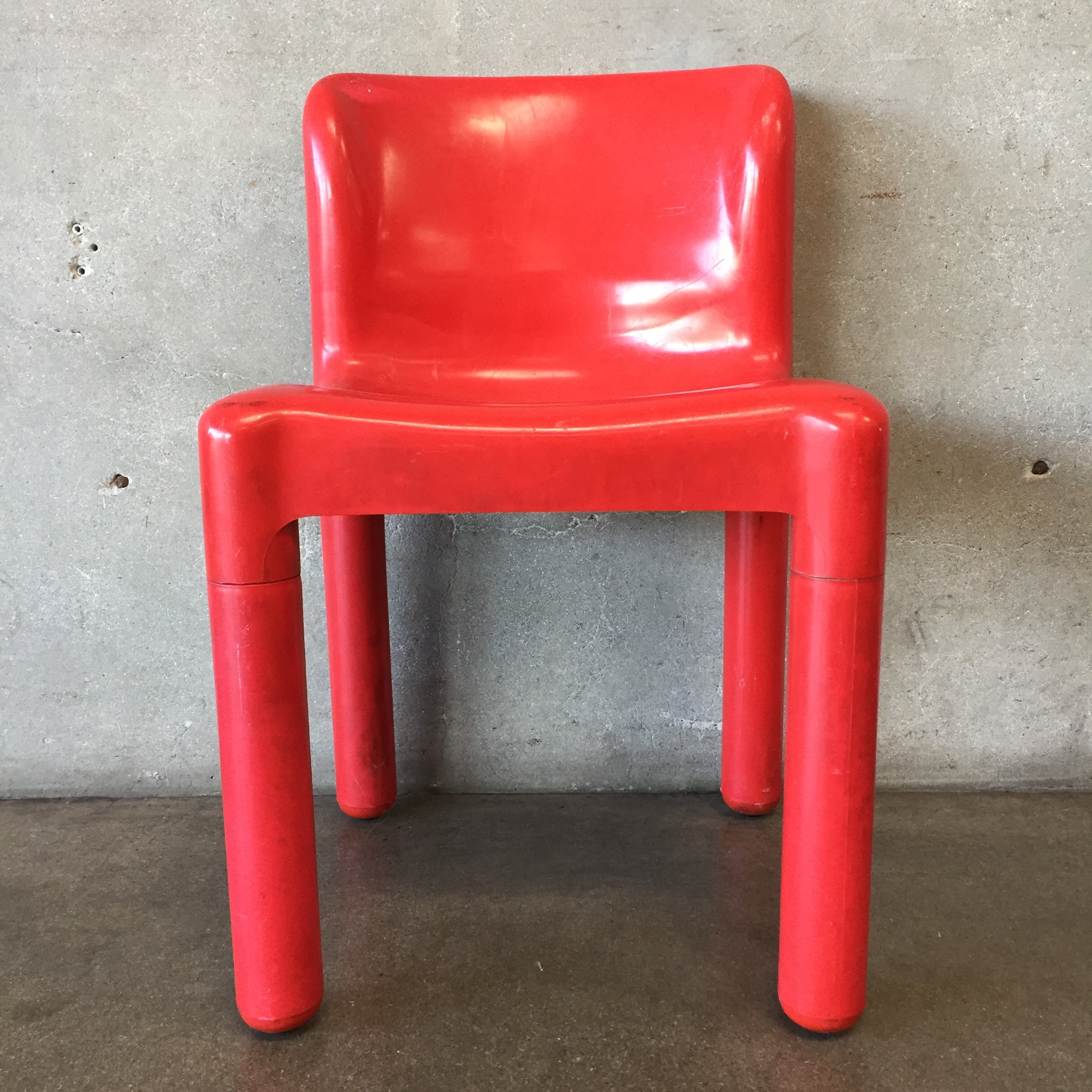 Kartell Red Dining Chair