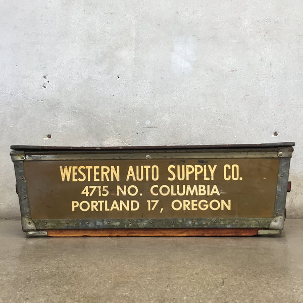 1940's Western Auto Supply Company Parts Box