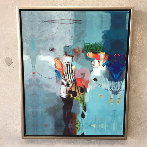 Abstract Framed Art by Craig Alan