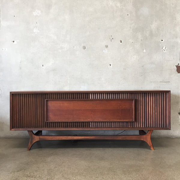 Mid Century Stereo Console by G&E