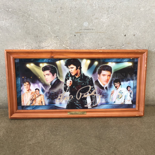 "The Bradford Exchange Elvis ""King of Rock"" Sign"