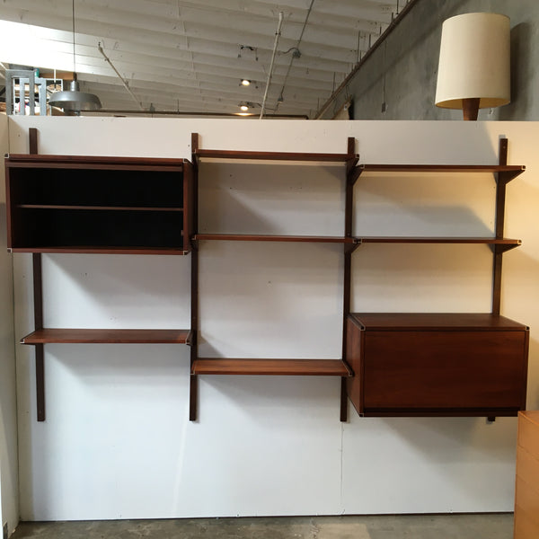Mid Century Modern Walnut Wall Unit By Barzilay