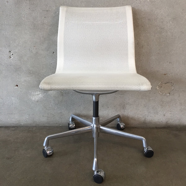 White Eames Style Office Desk Chair