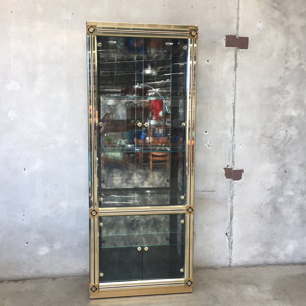 1970's Mastercraft Display Vitrine