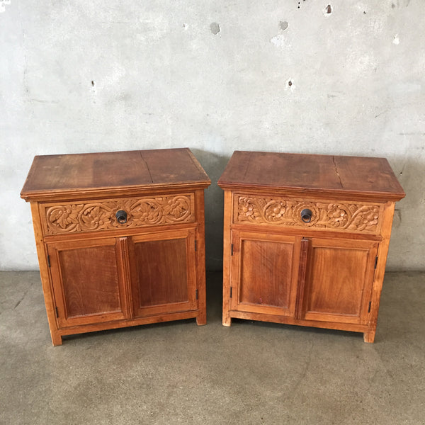 Pair of Vintage Nightstands