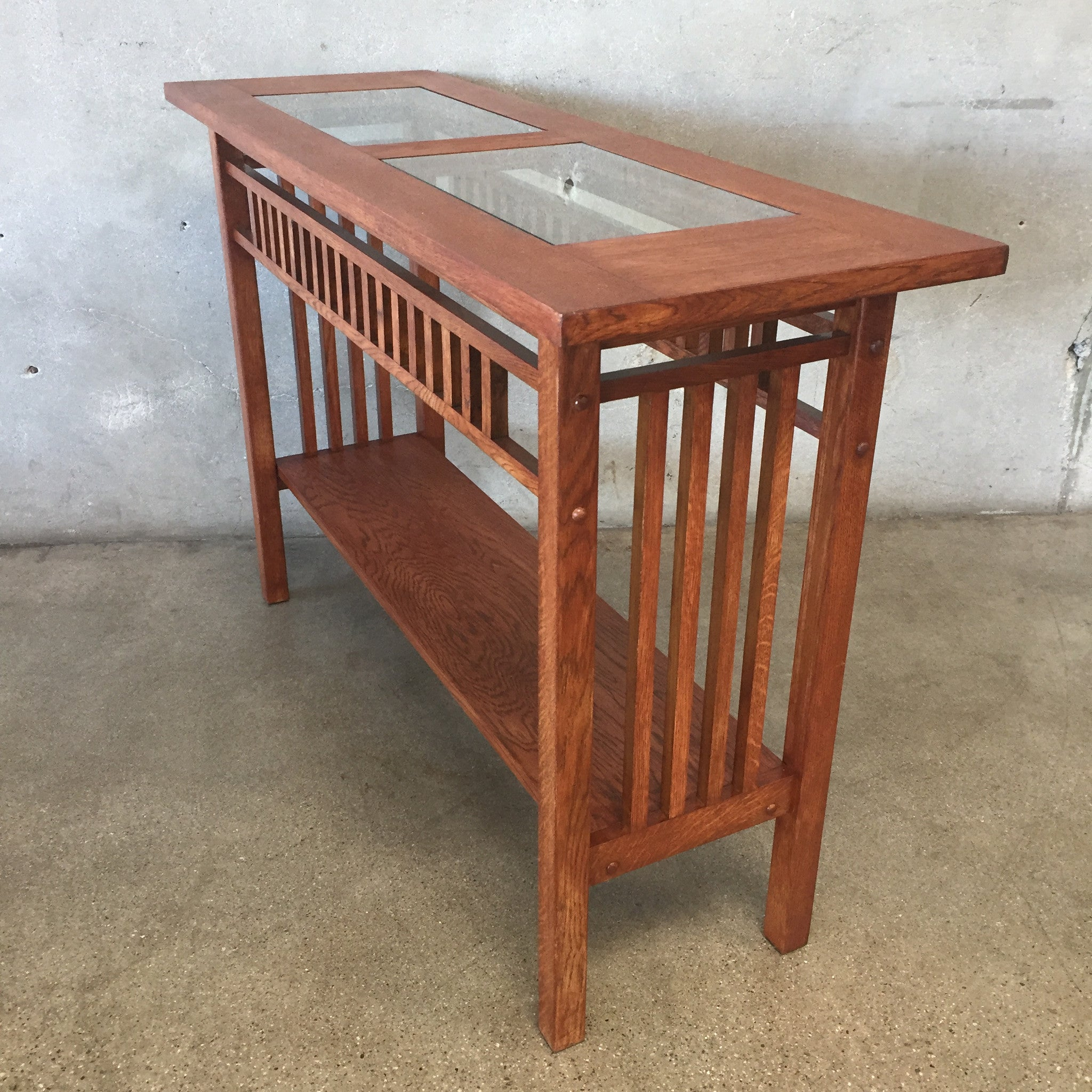 ... Restored Mission Console Table