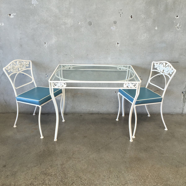 Wrought Iron Vintage Patio Set